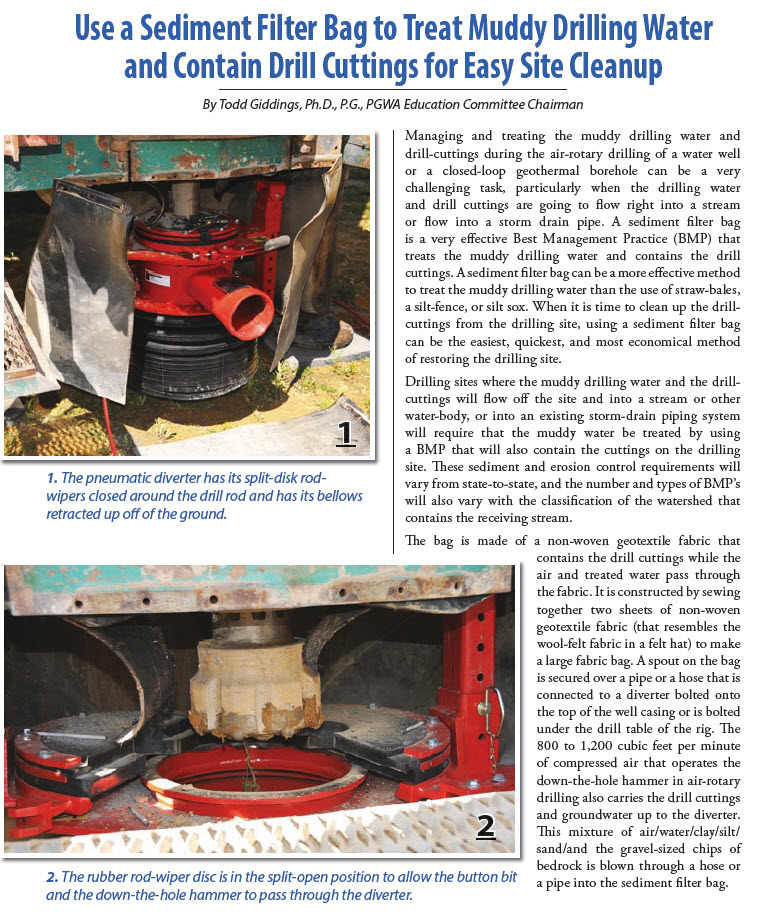 Use a Sediment Filter Bag article page 1